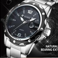 Wholesale Digital Day Clock - Biden Watches Men Luxury Brand Business Quartz Watch for Men Steel Wristwatches Dive 30m Casual Clock Men Relogio Masculino