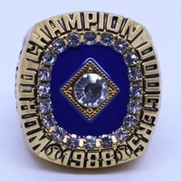 Wholesale Fan Rings - High Quality 1988 LA Dodgers World Series Championship Ring For Fans free shipping