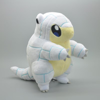 "Wholesale Icing Dolls - Hot New 8"" 20CM Alola Ice Sandshrew Poke Doll Anime Collectible Pocket Monsters Stuffed Dolls Kids Gifts Soft Plush Toys"