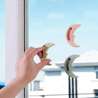 Doorknob Multicolor Boutons Moon Modeling Cabinet Handle Window Wardrobe Door Push Pull Poignées Type de pâte New Arrive 0 5yl C R