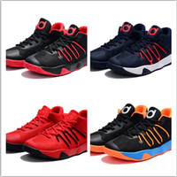 Wholesale Durant Kd V Shoes Orange - 2017 New Arrival Kevin TREY 6 Men's Basketball Shoes for Top quality KD Durant V Sports Training Sneakers