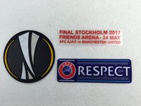 Wholesale powerlock Europa Champion Patch Games Finial Stockholm Match detail for Man Utd
