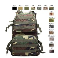 Outdoor Sports Waterproof Tactical Pack Bag / Sac à dos / Knapsack / Assault Combat Camouflage Tactical Camo Molle Sac à dos NO11-009B
