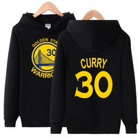 Wholesale Red Warriors - Hot men Hooded Pullover Basketball Golden State Stephen Curry Warriors Spring Autumn Winter Hoodies Men Cotton Sports Sweatshirts
