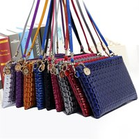 Wholesale Womans Bags Fashion PU Leather Women s Messenger Shoulder Bag Female Ladies Clutch Plaids Shoulderbags