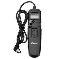 Wholesale Cable Remote Shutter Camera - Freeshipping TC-80N3 Digital Camera Timer Remote Control Shutter Release For Canon EOS 1Ds 1D 5D 5DII 5D III 7D 6D 10D 20D 30D 40D 50D D60