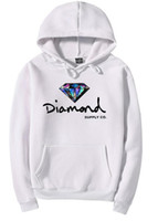 Wholesale Diamond Men Sleeve - Colorful Diamond supply co men hoodie women street brand fleece warm sweatshirt pull over winter autumn fashion hip hop primitive