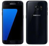 galaksi dört çekirdeği toptan satış-Samsung Galaxy S7 Kenar / S7 Cep Telefonu 5.1 inç 4 GB RAM 32 GB ROM Dört Çekirdekli 2.3 GHz Android 6.0 12MP 4G NFC yenilenmiş telefon