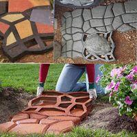 Wholesale Mold Stones - DIY Pavement Mold Driveway Paving Brick Patio Moldes Para Concreto Slabs Path Pathmate Garden Stone Walk Maker Mould