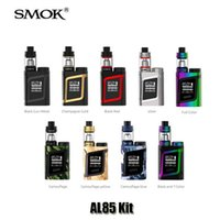Wholesale Authentic SMOK AL85 Alien Mini Kit VW TC W Box Mod ml Top Filling TFV8 Baby Tank