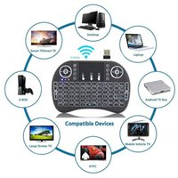 Wholesale Pc Tv Receiver - Mini Fly Air Mouse i8 2.4G Backlit Backlight Wireless Touchpad Keyboard USB Receiver For PC Pad Android TV Box