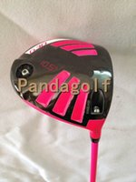 Wholesale Shaft Head - Golf Driver Pink G30 Clubs 9 10.5 degree with graphite shaft golf clubs G30 Woods With Head Cover