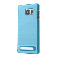 Wholesale Galaxy Note Case 5pcs - For Samsung Galaxy S7 S6 Edge Plus Grand Prime G530 G360 S5 Note 5 J710 Case Brush Hard Stand Shockproof Wiredrawing Round Hole Cover 5pcs