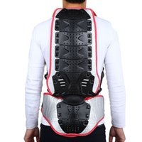 Unisex Backpiece di guida del motociclo SALETU Motorcycle Racing Corsa Pattinaggio Armatura Backpiece Waist Back Spine Protector