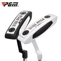 Putter black putter shaft - PGM Golf Putter Clubs for Men and Women Stainless Steel Shaft Zinc Alloy Head Beginner Clubs Exercise Putter Black White