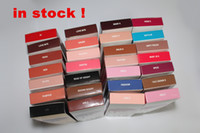 Wholesale Size New - New Stocking! Latest Kylie Lip Kit by Kylie jenner Lip gloss lipstick 42 colors non-stick line pen matte lipsticks 1set=1lipstick+1lipliner
