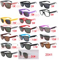 Wholesale Free Pc Protection - good quality Brand Designer Fashion Men Sunglasses UV Protection Outdoor Sport Vintage Women Sun glasses Retro Eyewear 18colors free ship