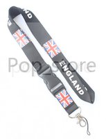 Wholesale Cell Phone Rice - About the BLIND ENGLAND's Rice flag combination cell phone neck strap key chain neck strap Lanyard black.