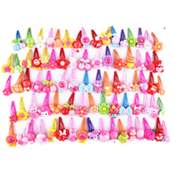 Wholesale 10 Catoon BB Clips Kids Hair Baby Girls Hairpin Ropes Children accessories