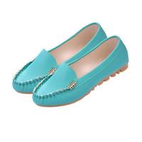 Wholesale Bottom Pregnant - 2017 Autumn doug shoes women's shoes flat leisure nurse only soft flat bottom spring pregnant women pink shoes size 35-40