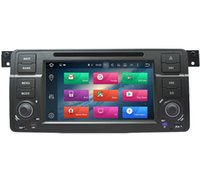 "Wholesale Bmw E46 Panel - Free shipping factory supply OEM 7"" digital panel quad core android 5.1 DAB OBD two din car DVD player for BMW E46"