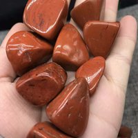 Wholesale Mm Holidays - 20--50 mm natural red jade quartz rock crystal Stone Tumbled Stone Irregular crystal healing home docoration gift