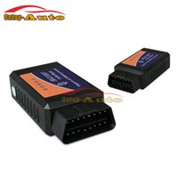 Wholesale- Universal Auto Car V1.5 ELM327 OBDII OBD2 Outil d'analyse de diagnostic Bluetooth Tool w / Software + CD