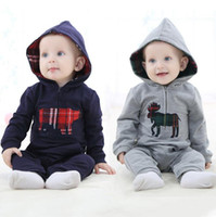 Wholesale Winter Clothings - Baby Clothes Boys Suits Boys Clothings Pure Cotton Fashion 3 pcs lot Long Hot Sale Free Shipping