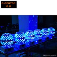 Freeshipping 20 unités Led Lantern Stage Effect Light Moon Star Gobo Rotation Mini Toile Montage Club Effet Léger Prix bas