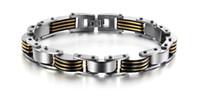correntes de elos venda por atacado-Amostra grátis novo 316L pulseiras de aço inoxidável mão corrente elo da cadeia de jóias corpo jóias da moda jóias acessório GS624