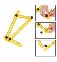 Wholesale Tile Tools Wholesale - Angle-izer Multi-Angle Ruler Measuring Instrument General Tools Four-Sided Ruler All Angel Forms For Builders Craftsmen Repetitive In stock
