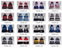 Wholesale Cheap Animal Beanie Hats - Wholesale New Sox Beanies All Baseball Teams Brave Beanies Cubs Mens Sports Beanies Cheap Yankees On Field Winter Offical Pirates Beanie
