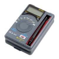 Wholesale Pocket Digital Mini Auto Range - XB-866 Mini Auto Range LCD Voltmeter Tester Tool AC   DC Digital Pocket Multimeter