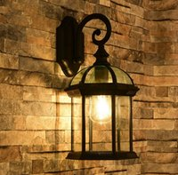 Wholesale Led Light Bar Bathroom - Retro Wall Lamp European Vintage Style Kerosene Lamps Beside Light For Bar Coffee Shop Bathroom Home Led Lights LLFA