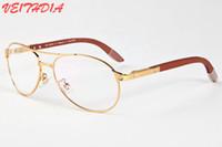 Wholesale Plastic Aviator Glasses - Brand Designer Aviator Sunglasses for Men Driving Luxury Coating mirror Oversized Sun Glasses Aviator Sunglasses for Women male female