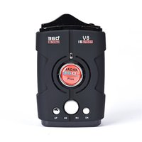 Wholesale 360 Degree Detection Voice Alert Car An ti Radar Detector For Car Speed Limited