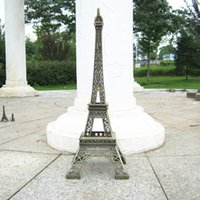 """Wholesale Hand Made Metal Art - France Pairs The Eiffel Iron Tower model hand-made it height 50cm 19.7"""" medal crafts Friend Birthday Gifts"""
