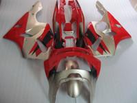 обтекатель zx6r 95 красный оптовых-Новый горячий moto части обтекатель комплект для Kawasaki Ninja ZX6R 1994-1997 красный серебряный обтекатели набор zx6r 94 95 96 97 OT11
