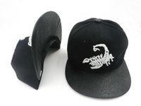 Wholesale dnine reserve hats for sale - Group buy HOT TOP summer D9 DNINE RESERVE scorpion embroidered baseball caps Snapback hats fashion men s women s hip hop brand street hats DDMY
