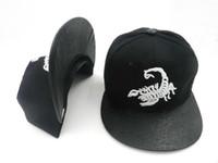 d9 kapaklar toptan satış-SICAK ÜST! Yaz D9 DNINE REZERV akrep işlemeli beyzbol kapaklar Snapback şapka moda erkek kadın hip hop marka sokak şapkaları DDMY