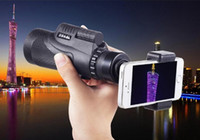 Disparo fácil 12x50 Caminhada Concert Camera Lens Telescope Monocular With / No Holder For Smartphone Free Shipping DHL