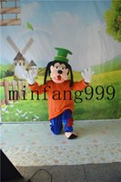 Wholesale Making Cartoon Movies - 2016 Goofy mascot costume cute cartoon clothing factory customized private custom props walking dolls doll clothing