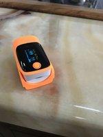 Wholesale Oximeter Beeps - Free shipping fingertip Pulse oximeter with SPO2 alarm beep sound finger oximetro