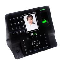 Wholesale Face Detection - 2017 New Version ZMM220 Face Detection Employee Facial Time Clock ZKTeco iface102 Dual Camera Facial Fingerprint Free Software