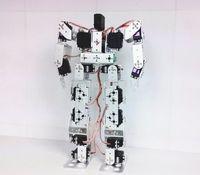 Wholesale Servo Brackets - 1set 17DOF Biped Robotic Educational Robot Kit Servo Bracket Ball Bearing Black W  Servo Horns For Hobbyists, Robot Competition