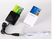 Wholesale Magnetic Cards Reader - hot selling usb to PC communication interface 13.56mhz mf chip contactless magnetic card reader and writer