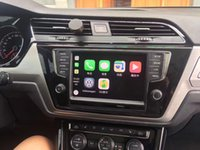 Wholesale Brand new aochuang audi A6 IOS carplay for year audi A6 quattro edition Internet of Vehicles free map GPS and internet