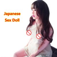 Wholesale best inflatable love dolls online - Best full size real silicone sex doll realistic vagina japanese inflatable male love doll adult sex toys for men