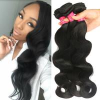 Wholesale loose kinky curly virgin hair for sale - Group buy Longjia Hair Brazilian Virgin Human Hair Bundles Body Wave Kinky Curly Straight Deep Wave Loose Wave Hair Extensions Weaves