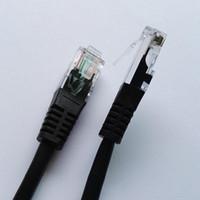utp rj45 al por mayor-0.5m 1m 2m 3m 5m 10m 15m 20m Chapado en oro RJ45 cat5e utp Cable de parche de red Ethernet freeshipping